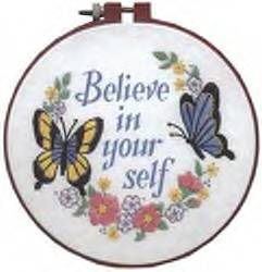 Believe in Yourself Crewel kit