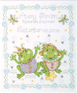 Frog Family Birth Record