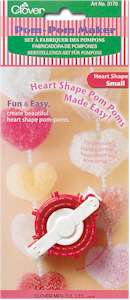 Clover Heart Shape Pom Pom Maker Small