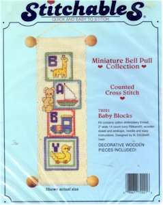 Stitchables Baby Blocks
