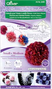 Clover Flower Frill Templates Small and Medium