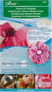 Clover Flower Frill Templates Extra Small and Mini