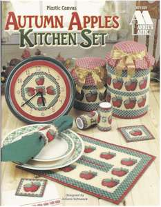 Autumn Apples Kitchen Set
