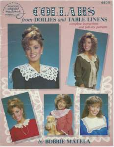 Collars from Doilies and Table Linens