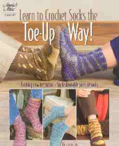 Learn to Crochet Socks Toe Up Way