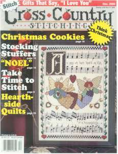 2000 December Issue Cross Country Stitching