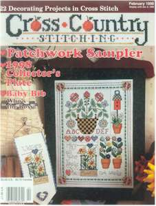 1998 February Issue Cross Country Stitching