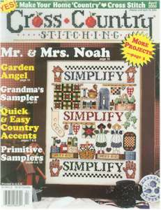 2000 April Issue Cross Country Stitching