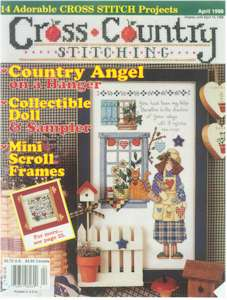 1998 April Issue Cross Country Stitching