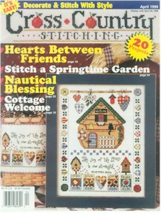 1999 April Issue Cross Country Stitching