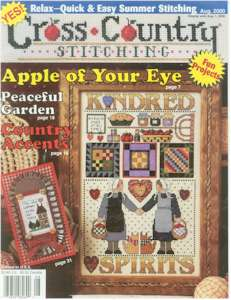 2000 August Issue Cross Country Stitching