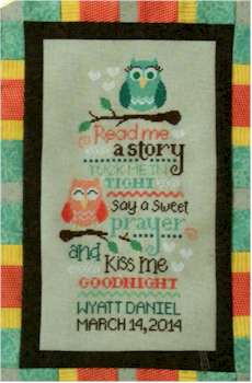 Owl Birth Sampler