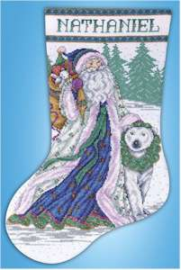 Santa & Polar Bear Stocking