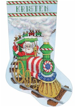 Santa's Train Stocking