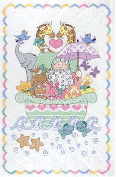 Stamped Cross Stitch Including Many Discontinued Kits