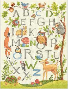 Wooded Alphabet