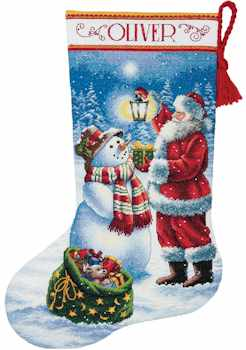 Holiday Glow Stocking
