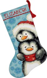 Hugging Penguins Stocking Kit