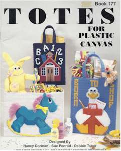 Totes for Plastic Canvas