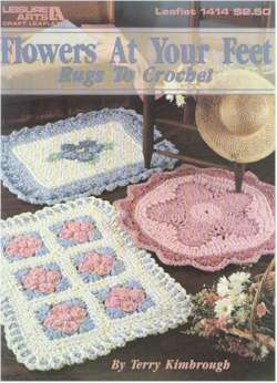 Flowers at Your Feet Rugs to Crochet