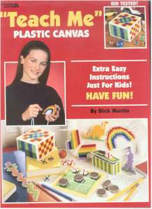 Teach Me plastic canvas