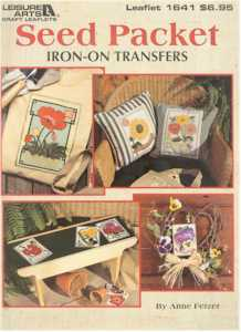 Seed Packet Iron-on Transfers