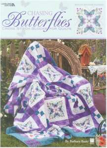 Chasing Butterflies Cross Stitch Blocks for Quilts