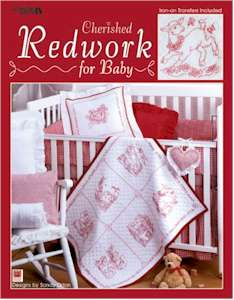 Cherished Redwork for Baby