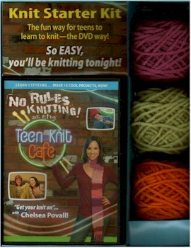 No Rules Knitting Teen Cafe