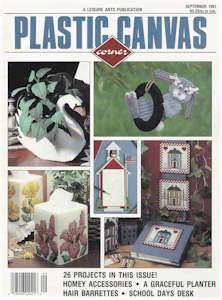 Plastic Canvas Corner Volume 2, Number 6, Sept 1991