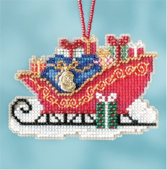Charmed Ornament Traditional Sleigh 2017