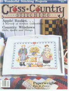 1992 October Issue Cross Country Stitching