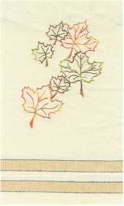 Maple Leaf Kitchen Towel Double