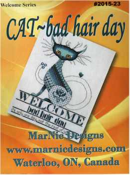 CAT-bad hair day