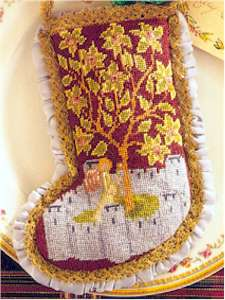 Medieval Angel Stocking 1