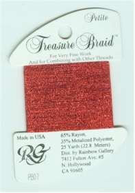 Petite Treasure Braid Bright Red