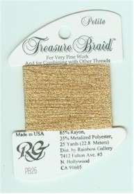 Petite Treasure Braid Dull Gold