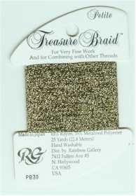 Petite Treasure Braid Gold/Black