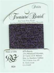 Petite Treasure Braid Dark Purple