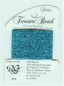 Petite Treasure Braid Blue med