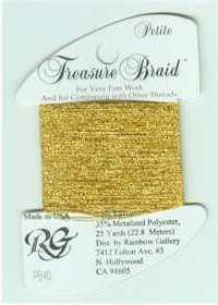 Petite Treasure Braid Light Brassy Gold