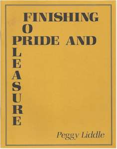 Finishing For Pride And Pleasure
