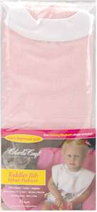 Pink Toddler Bib Velour Pullover