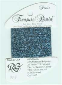 Petite Treasure Braid Light Navy