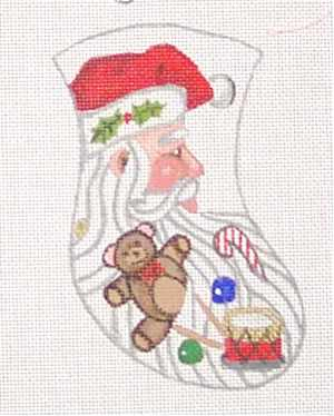 Santa and Toys Ornament