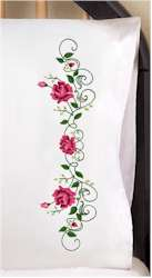 Rose Vine Pillowcases