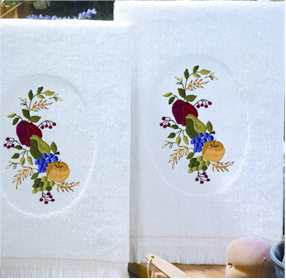 Fruit Terry Accent Towels