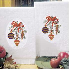 Ornaments Terry Accent Towels