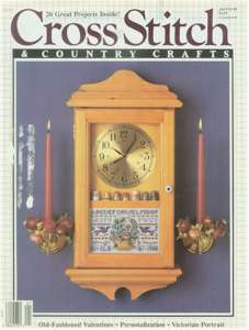 1988 Jan/Feb Cross Stitch and Country Crafts