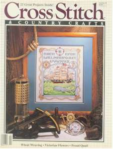 1989 Jan/Feb Cross Stitch and Country Crafts